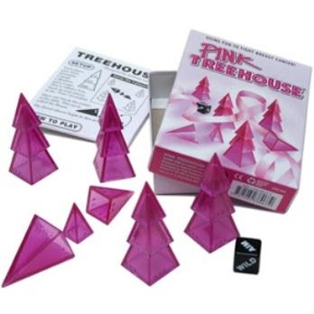 ツリーハウス(ピンク)日本語ルール付属