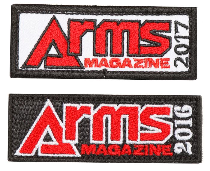 ARMSオリジナルパッチAセット(2016/2017)【メール便発送】