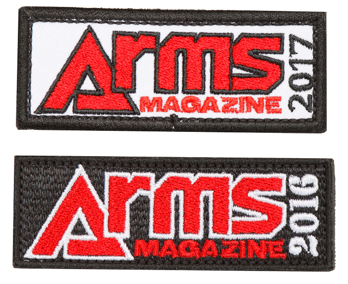 ARMSオリジナルパッチAセット(2016/2017)