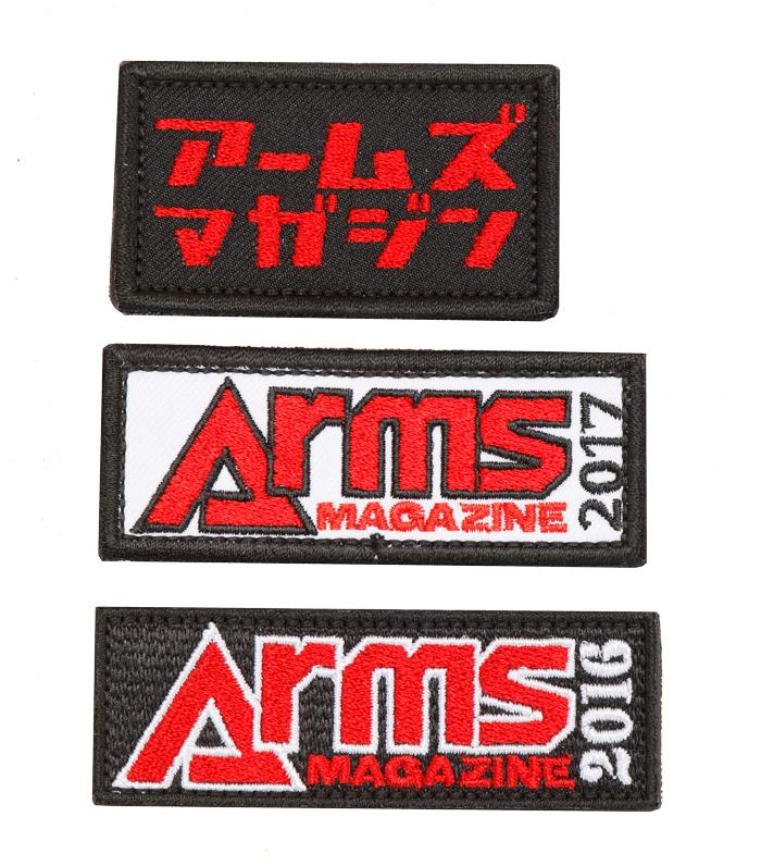 ARMSオリジナルパッチCセット(2016/2017/カタカナVer.)【メール便発送】