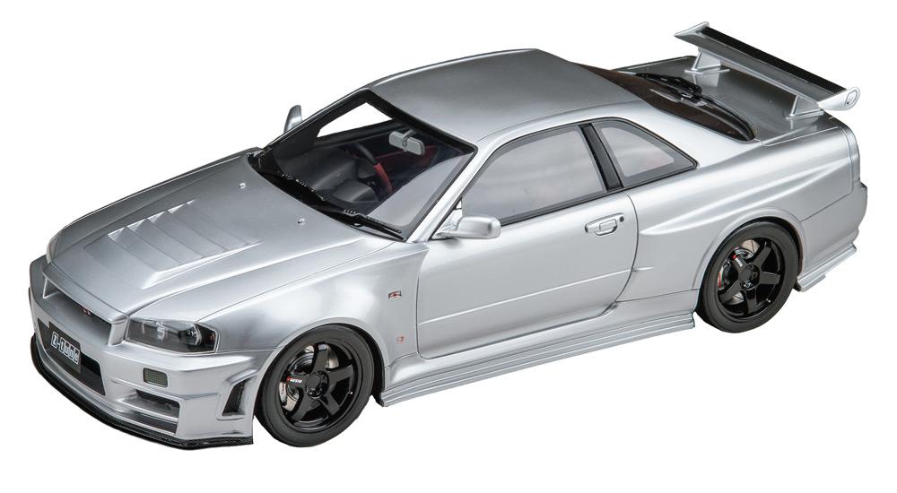 1/18 NISMO R34 GT-R Z-tune ダイアモンドシルバー