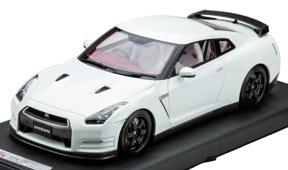日産 GT-R R35 エゴイスト ホワイト