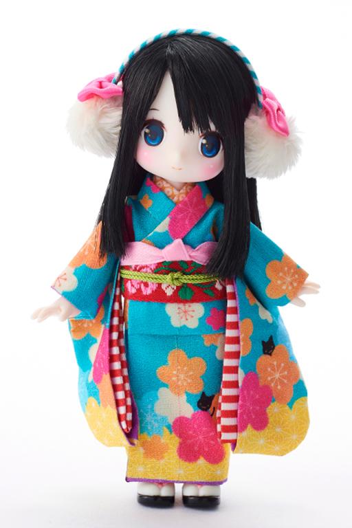 chuchu doll HINA「碧色ねこ」