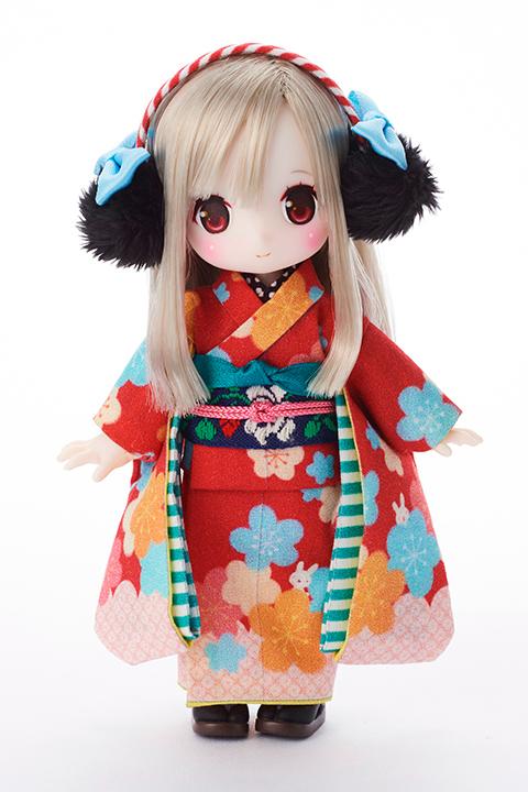 chuchu doll HINA「緋色うさぎ」