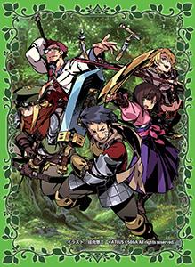 世界樹の迷宮DOMINIONカードスリーブ 冒険者たち