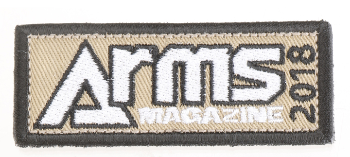 ARMSオリジナルパッチ2018【メール便発送】
