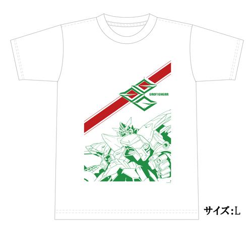 Tシャツ ガオファイガー1 白 L