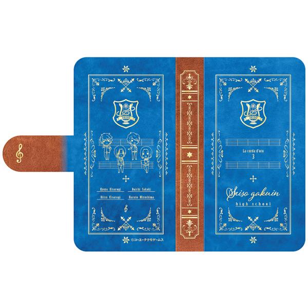 金色のコルダ3 手帳型スマホケース 星奏学院高校