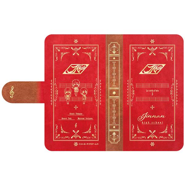 金色のコルダ3 手帳型スマホケース 神南高校